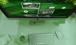 Layout Website Residencial Madri