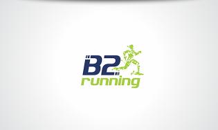 B2 Running Logo