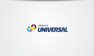 Gráfica Universal | Logo e Papelaria