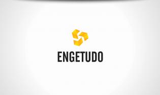Engetudo Logo e Papelaria