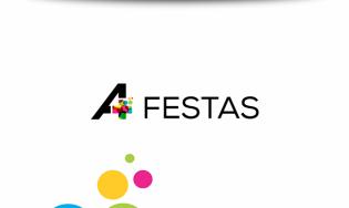 A+ Festas – Logo
