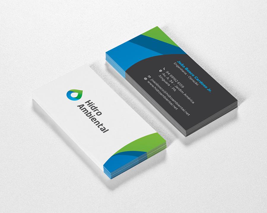 catão de visitas business card