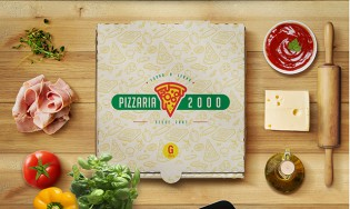 Pizzaria 2000 Logo