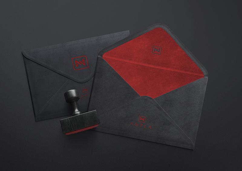 Envelope para consultoria e corretora de seguros.