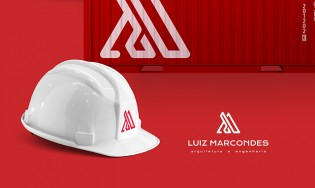 Engenheiro. Luiz Marcondes arquitetura e engenharia – logo