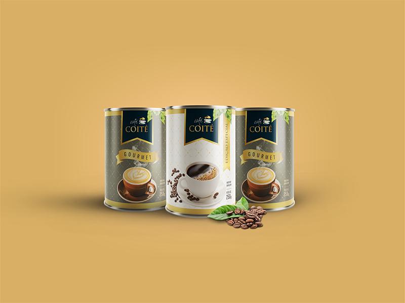 Embalagem para café especial.